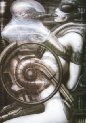 PRINTS AND POSTERS OF HORROR ART BY ARTIST HR GIGER