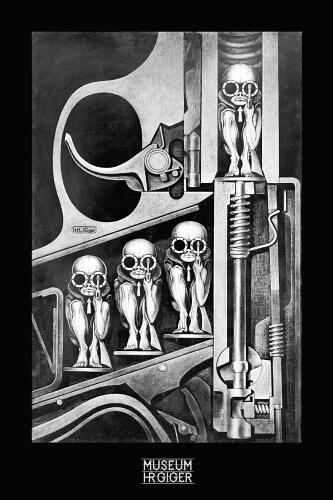 hr giger art. HR Giger larger art prints and