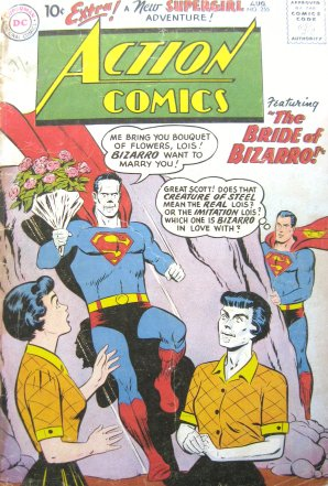 Superman Bizarron comic cover