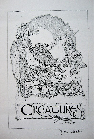 Creatures signed art print by Dan Woods