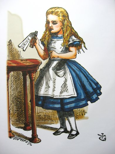 Alice In Wonderland Colour Prints By Sir John Tenniel