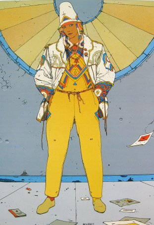 ART PRINTS AND POSTERS OF ARTWORK BY ARTIST MOEBIUS