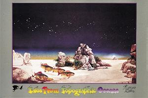 TALES FROM TOPOGRAPHIC OCEANS POSTER by Roger Dean