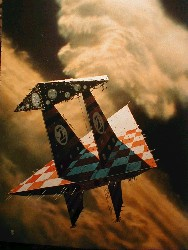 Triangular Spaceship by Chris Foss