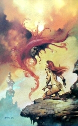 ART PRINTS AND POSTERS OF ARTWORK BY ARTIST BORIS VALLEJO